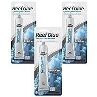 Seachem Reef Glue Cyanoacrylate Gel Coral Frag Mounting, 20g Each (3 Pack)