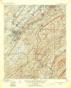 YellowMaps Bessemer Iron District AL topo map, 1:62500 Scale, 15 X 15 Minute, Historical, 1905, 20.9 x 16.9 in
