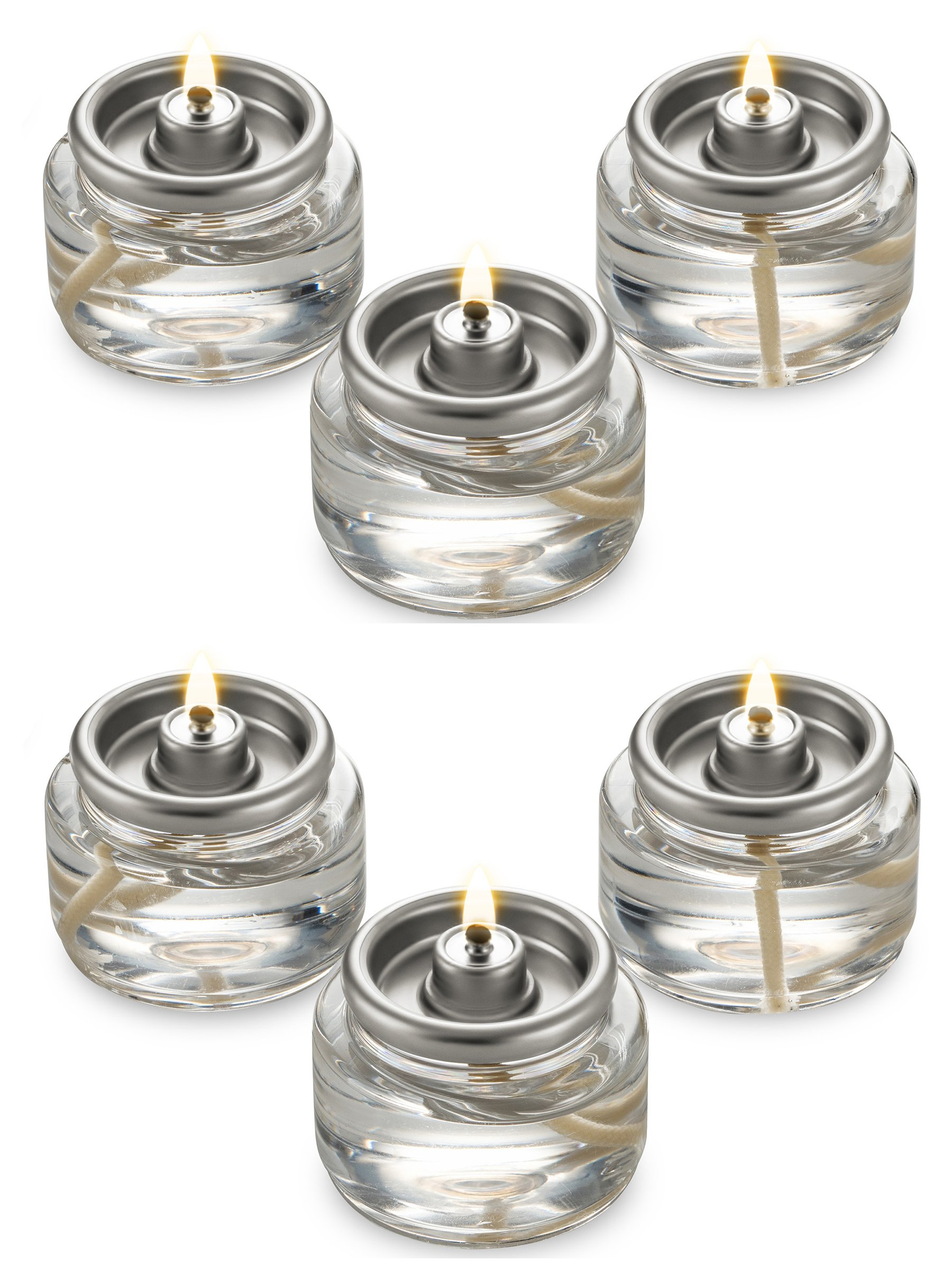 Fuel Cell Tealights Liquid Oil Candles Paraffin 8 Hour Burn - in a Box - 90Pack - Disposable by Candle Charisma