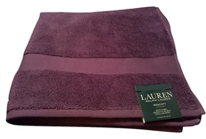 Ralph Lauren Wescott Towel Noble Purple Bath Towel - 30x56