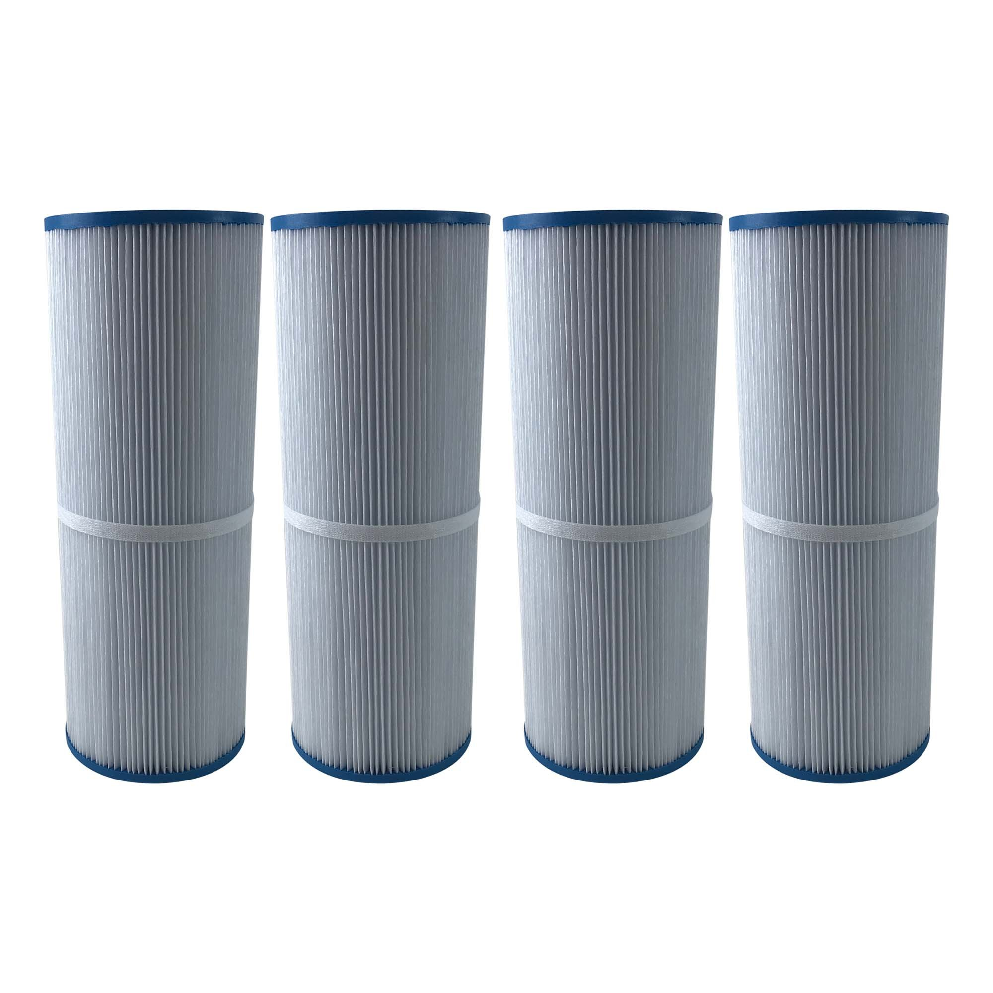 Think Crucial 4 Replacement for Unicel Pool Filter Fits C-4326, Pleatco PRB25-IN, Filbur FC-2375 & Rainbow Dynamic 25, Fits Multiple Pools & Spas