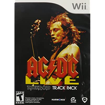 AC/DC Live: Rock Band Track Pack - Nintendo Wii: Video Games