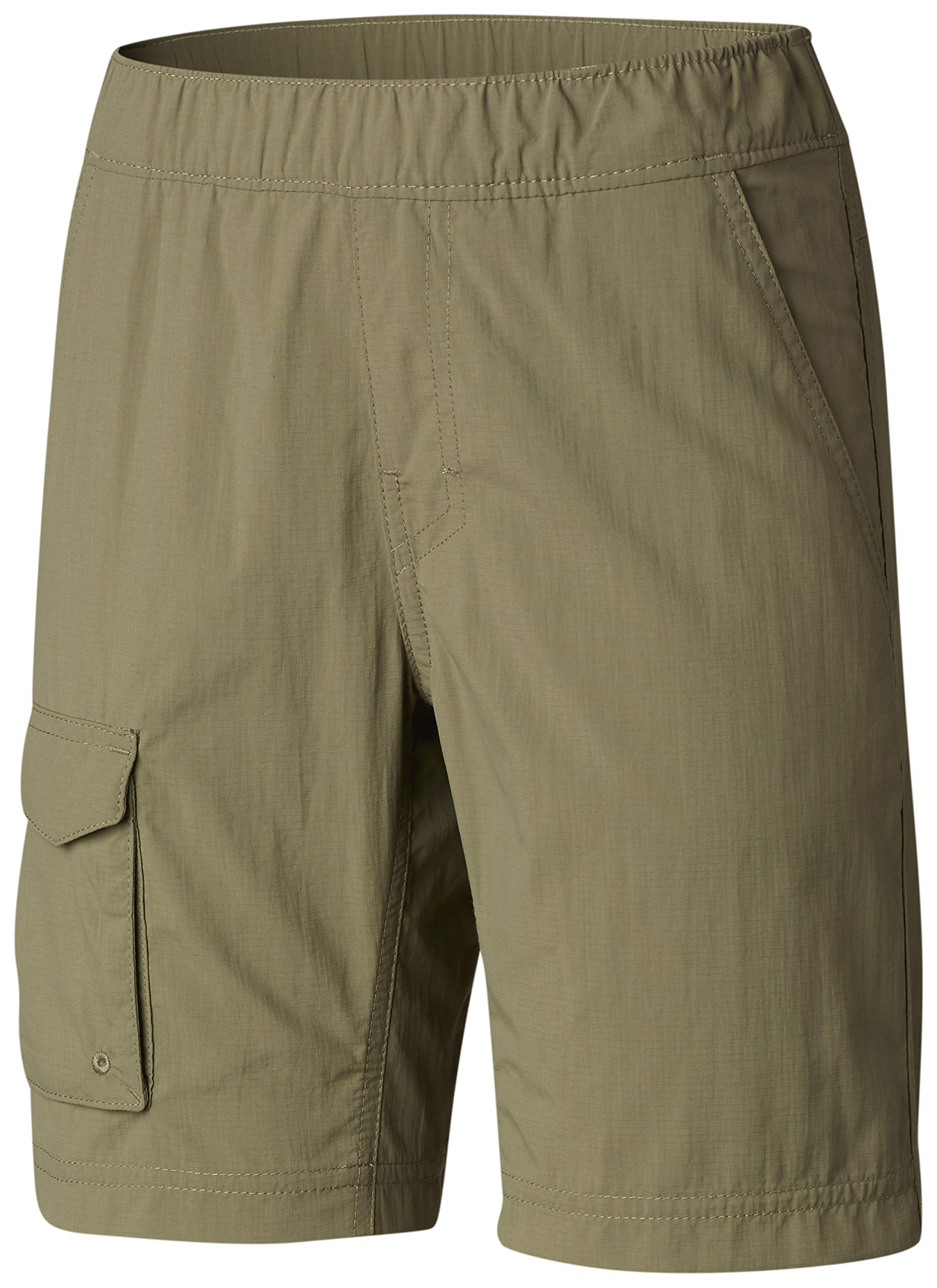 Columbia Youth Boys' Silver Ridge Pull-On Short, Breathable, UPF 30 Sun Protection, Large, Cypress by Columbia