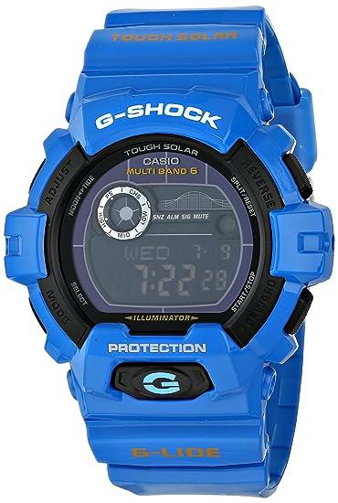 Shock Graph Tide ClásicaCasio Glide Reloj Serie G Gwx8900 Con Pk0wnO8
