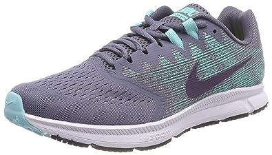 size 40 9b483 51082 Nike Damen Zoom Span 2 Laufschuhe, Grau (Light Carbon/Dark Raisin-Aurora