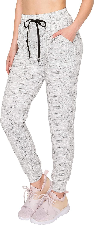 ALWAYS Women Drawstrings Jogger Sweatpants - Premium Soft Stretch Pockets Pants