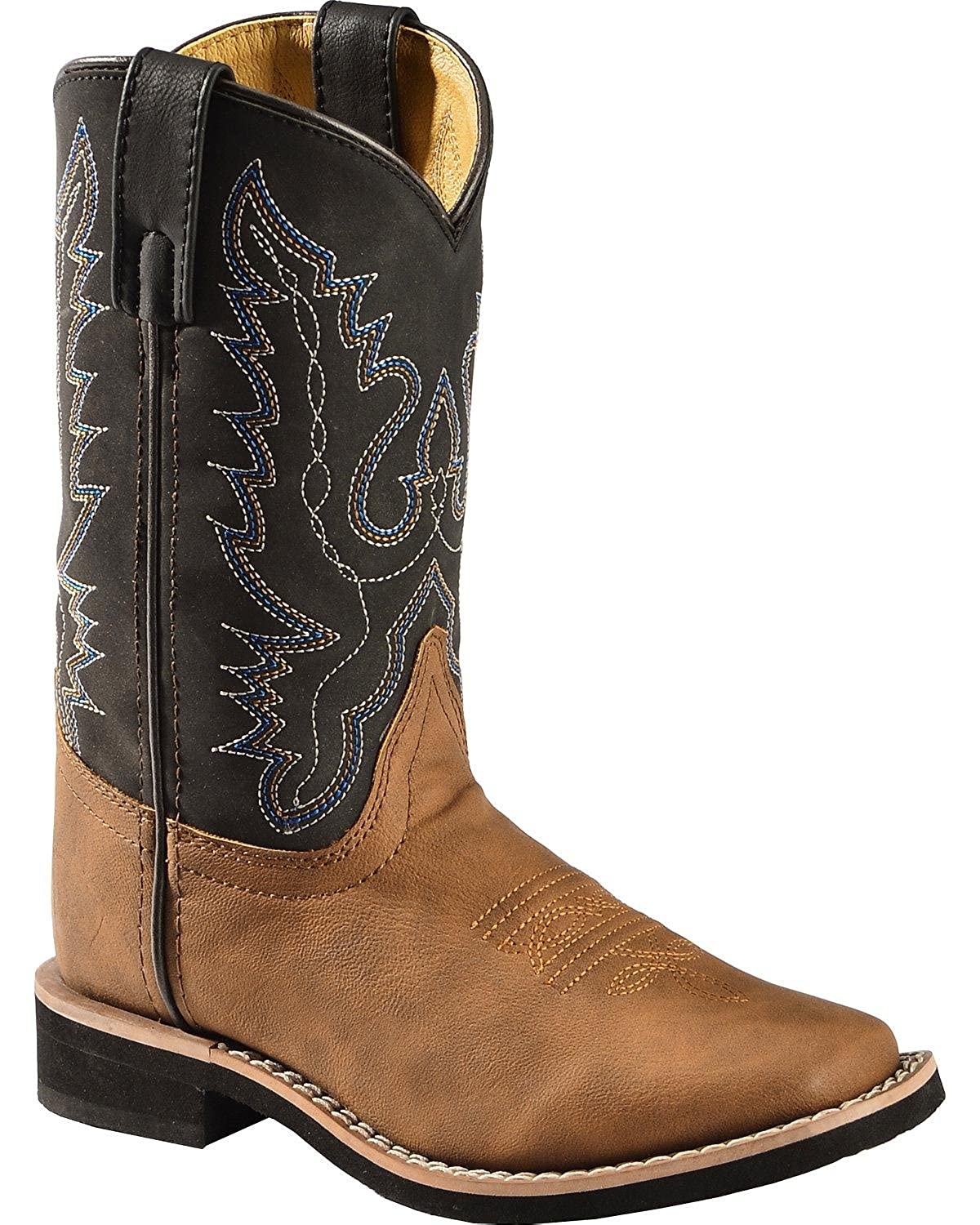 Smoky Mountain Boots Swift Creek Boys Cowboy Boot Square Toe 1725-C