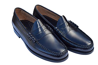 a18e8fb815 Bass Weejun Black Larson Penny Loafers Sizes 7-11 Available (UK10 EU44)