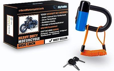 Heavy Duty Anti Theft Motorcycle Disc Lock