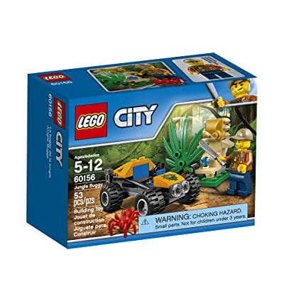 LEGO City Jungle Explorers Jungle Buggy 60156 Building Kit (53 Piece): Toys & Games
