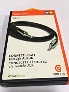 Griffin Connect play Flat Aux Cable 3.5 MM Jack