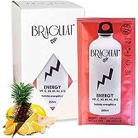 BRAGULAT | Pack de Bebidas y Refrescos Energéticas Instantáneas en Polvo | Sin Azúcar y con Vitamina C, B3, B5, B6 YB12…