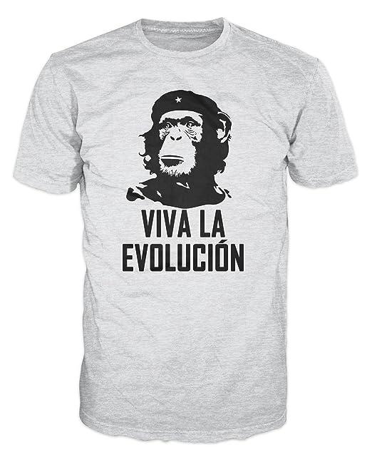 Amazon.com: Viva La Evolucion - Evolution Che Guevara Funny ...