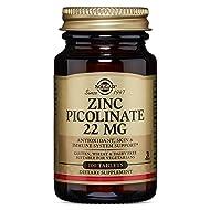 Solgar – Zinc Picolinate 22 mg, 100 Tablets