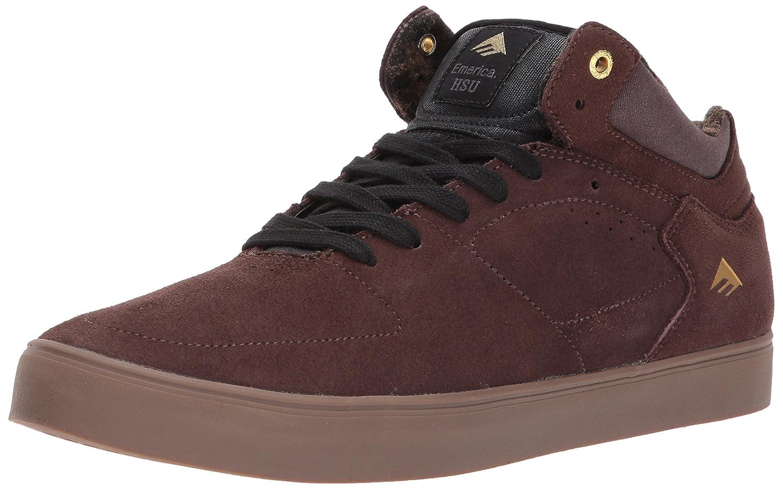 Emerica The HSU G6 Skate Shoe 10 D(M) US|Dark Brown