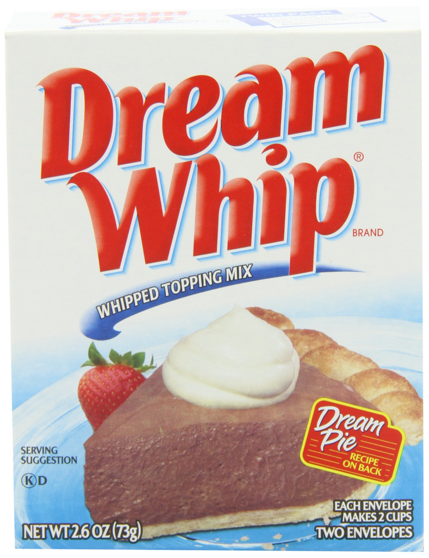 Dream Whip Dessert Topping, 2.6-Ounce Units (Pack of 12)