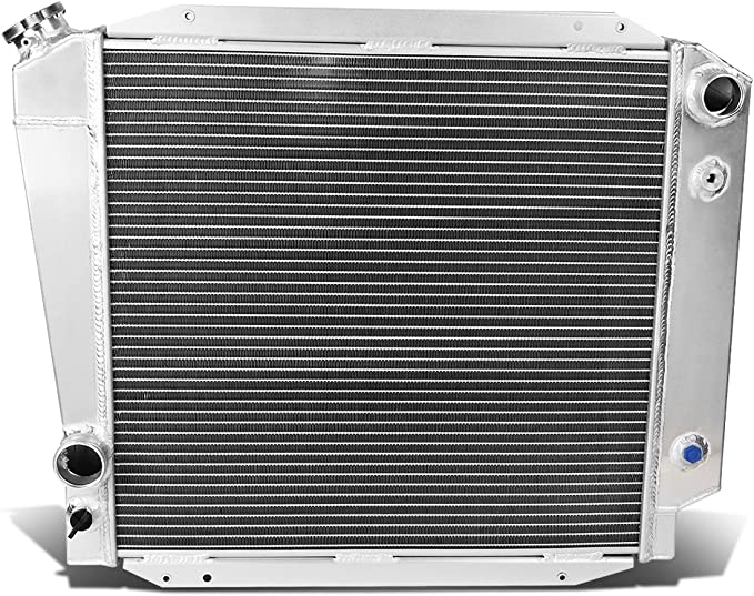DNA Motoring RA-ARSX02-MT-2 2-Row Full Aluminum Radiator