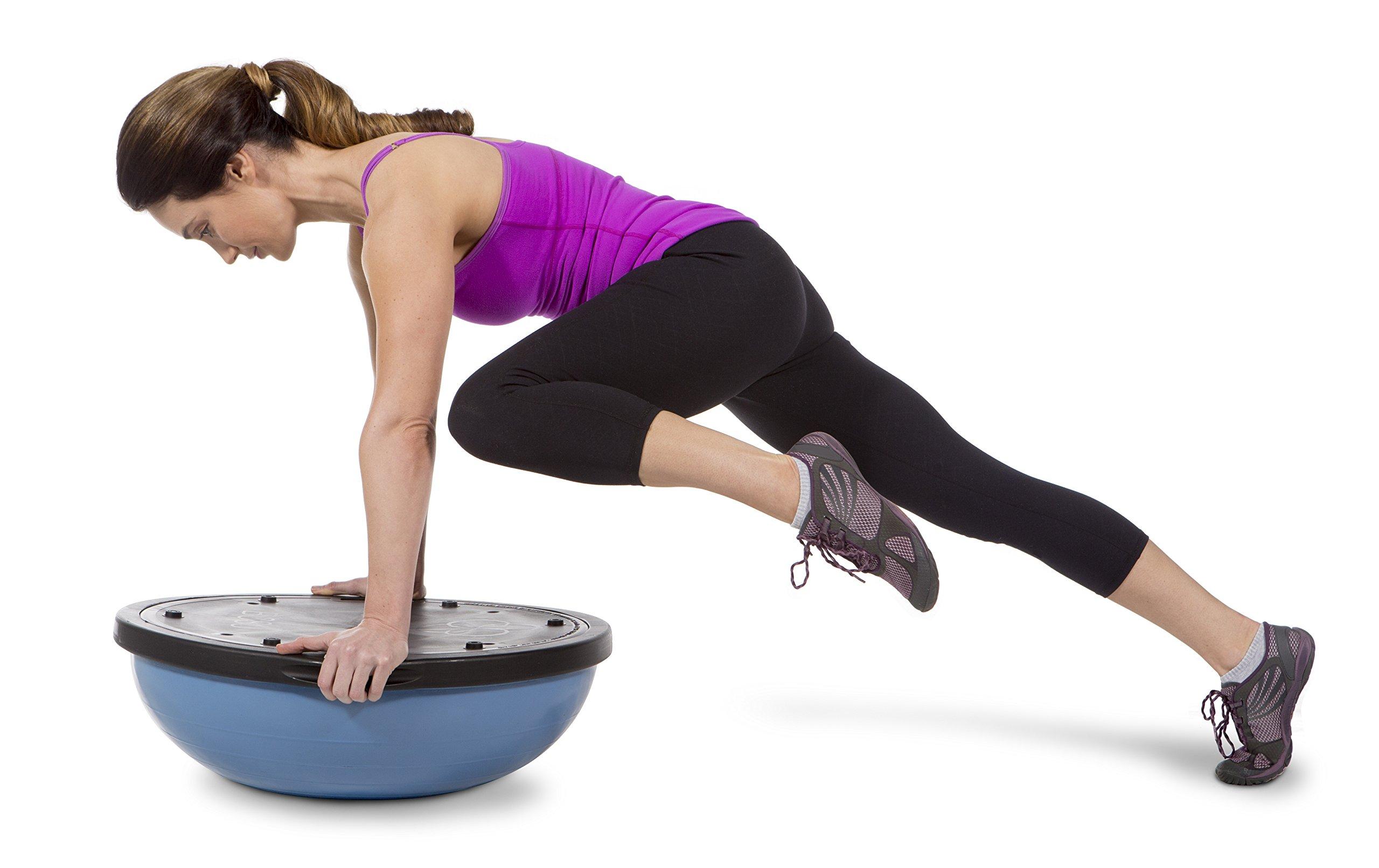 Bosu Balance Trainer, 65cm The Original - Blue/Blue by Bosu (Image #2)