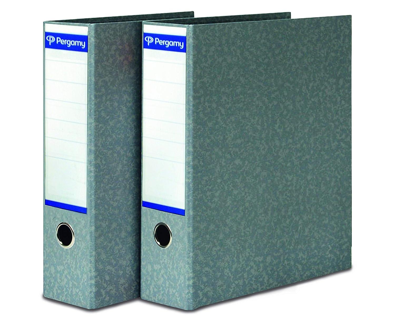 Pergamy Definiclas - Archivador clásico sin rado, A4, 75 mm: Amazon.es: Oficina y papelería