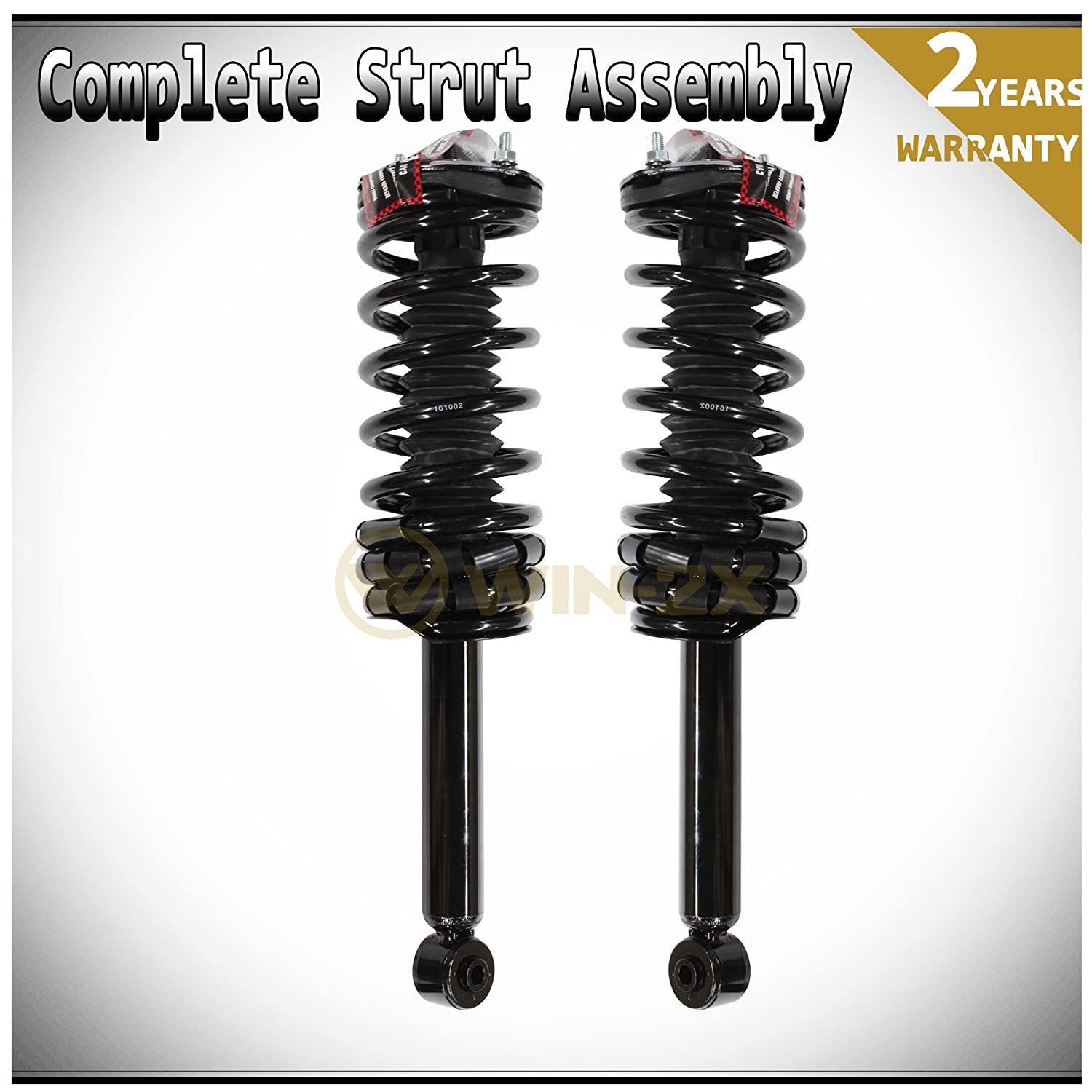 WIN-2X New 4pcs Front+Rear Right+Left Quick Complete Suspension Shock Struts /& Coil Springs Assembly Kit Fit 95-99 Nissan Maxima 96-99 Infiniti I30
