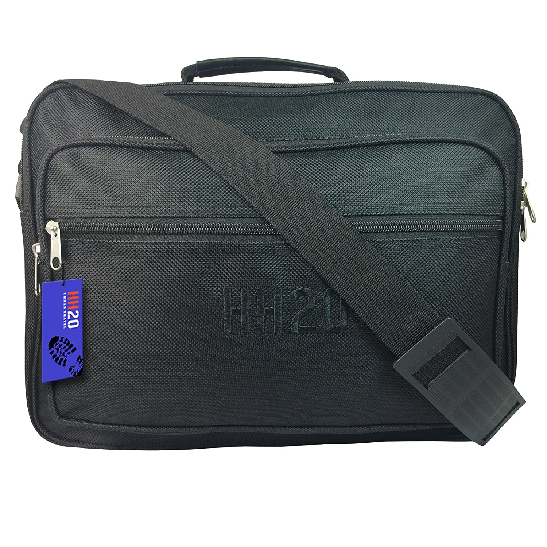 Colour Mens Small Hand Luggage Bag Black