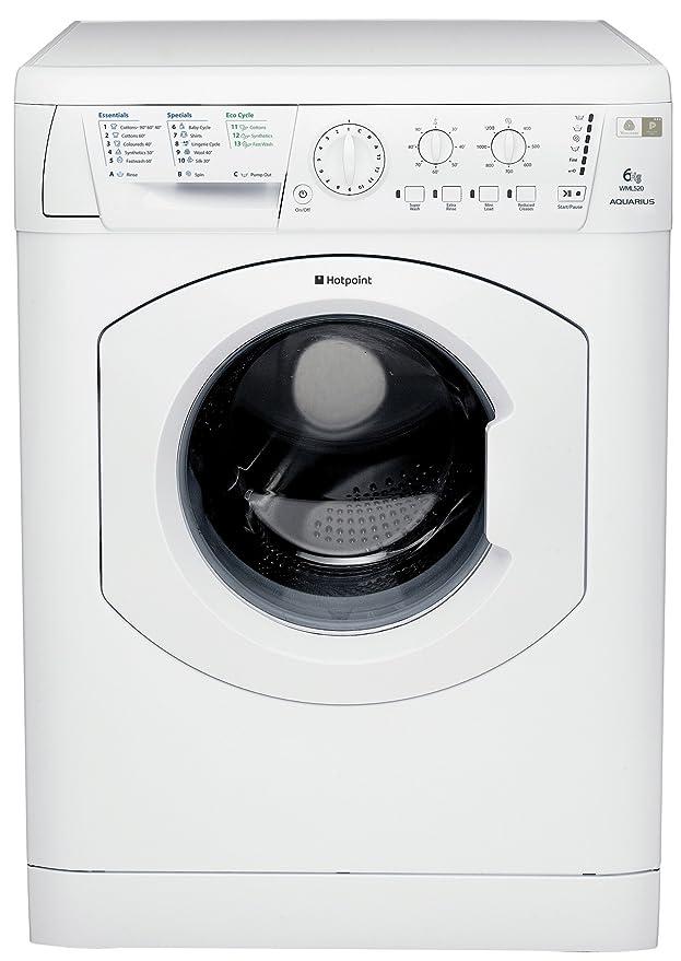hotpoint wml520p aquarius washing machine in white amazon co uk rh amazon co uk