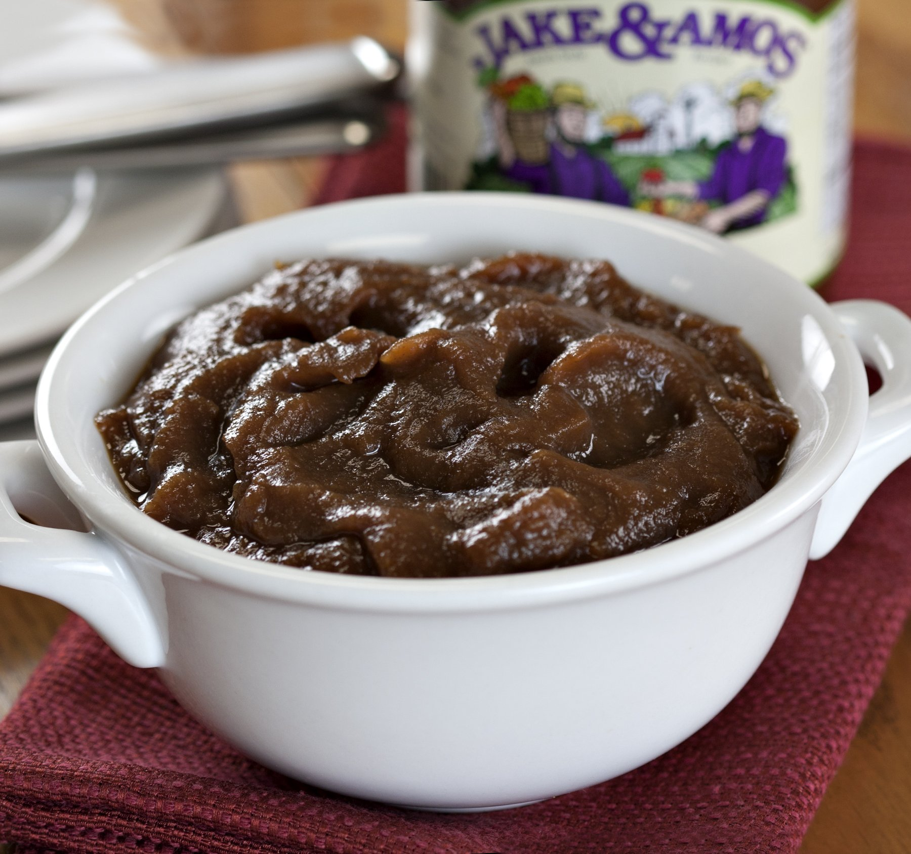 Jake & Amos Apple Butter With Spice No Sugar 16 oz. (3 Jars) by Jake & Amos® (Image #2)