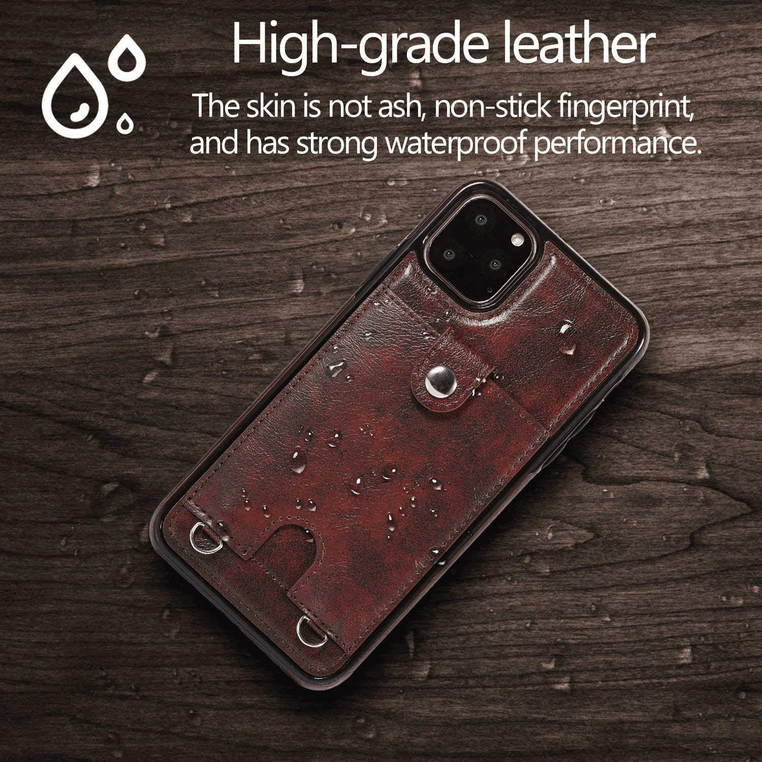 Leather Case for Huawei Mate 20 LITE Flip Cover fit for Huawei Mate 20 LITE Business Gifts with Waterproof-case Bags