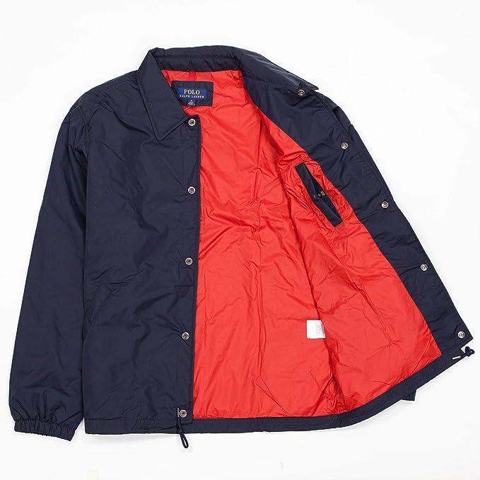 Polo Ralph Lauren Print Logo Windbreaker Nylon Coach Jacket - Azul ...