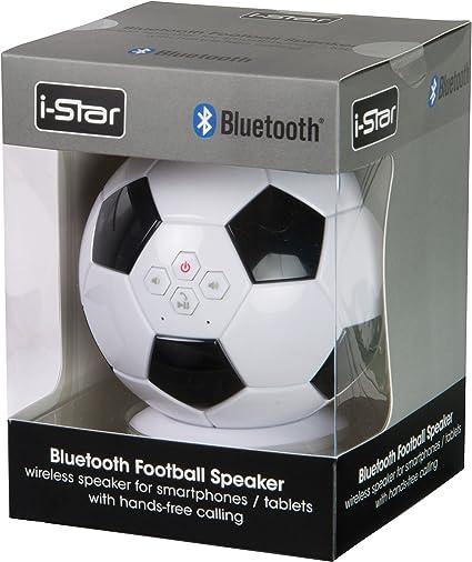 i-Star 79089IS - Altavoz Bluetooth, diseño de balón de fútbol ...