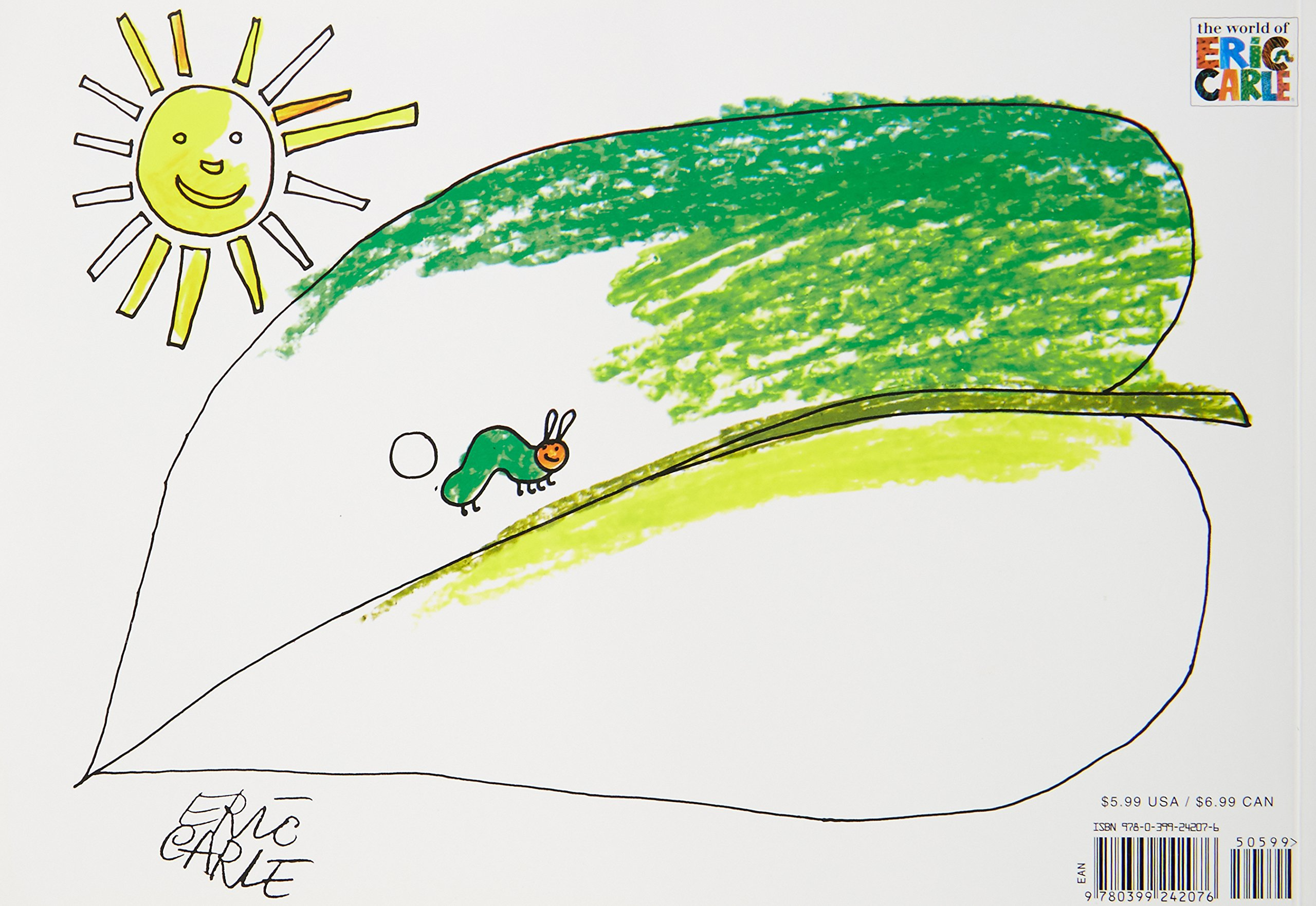 Amazon.com: My Own Very Hungry Caterpillar Coloring Book ...