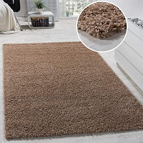 Shag Rug Solid One Color Area Rug