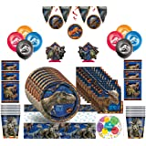Jurassic World Fallen Kingdom Birthday Party Kit for 16 Guests with Decorations