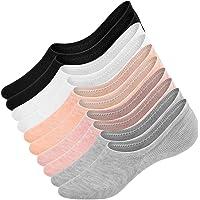UMIPUBO 10 Pares Calcetines para Mujer Invisibles De Algodón Calcetines Cortos Elástco Con…