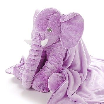 Plüsch Stofftier Kuscheltier Spielzeug Toy Groß Kinder Baby Elefant Puppe Kisse