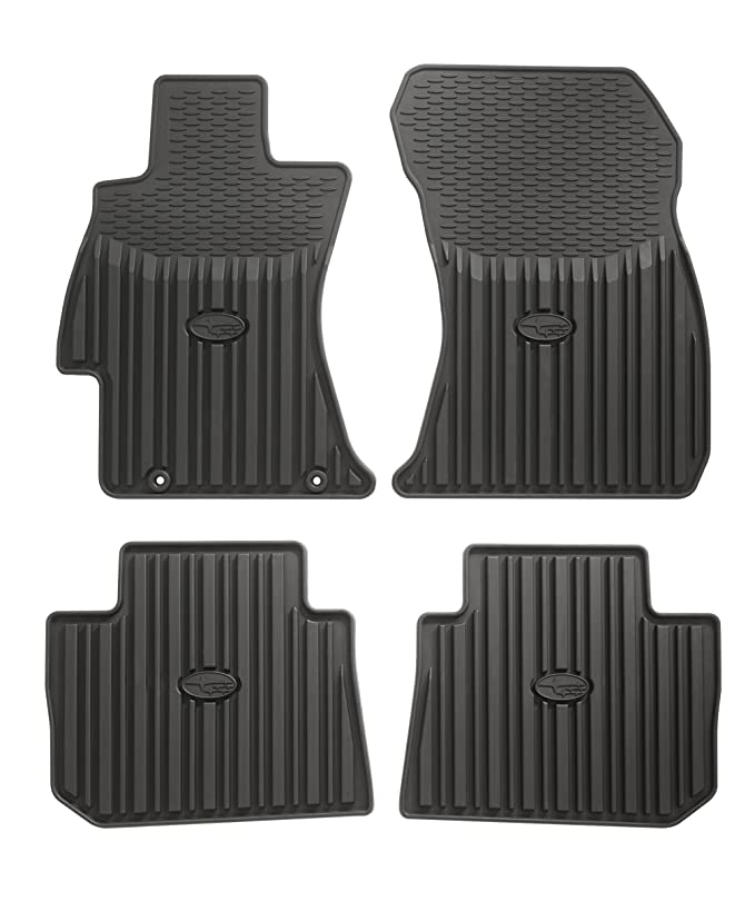 Black Nylon Carpet CFMBX1AC9219 Coverking Custom Fit Front and Rear Floor Mats for Select Acura TL Models