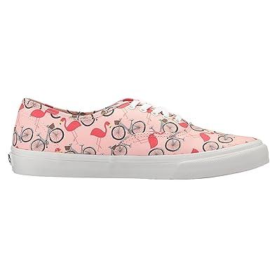 f276671841418e Vans Unisex Authentic Slim Shoes Tropical Peach True White Size M4.5 W6