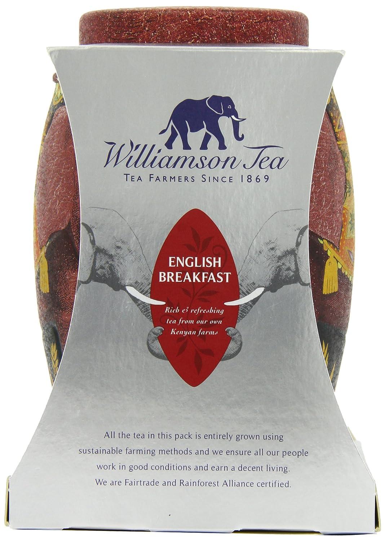 4fa186cbd Amazon.com   Williamson English Breakfast Elephant Tea Caddy   Black Teas    Grocery   Gourmet Food