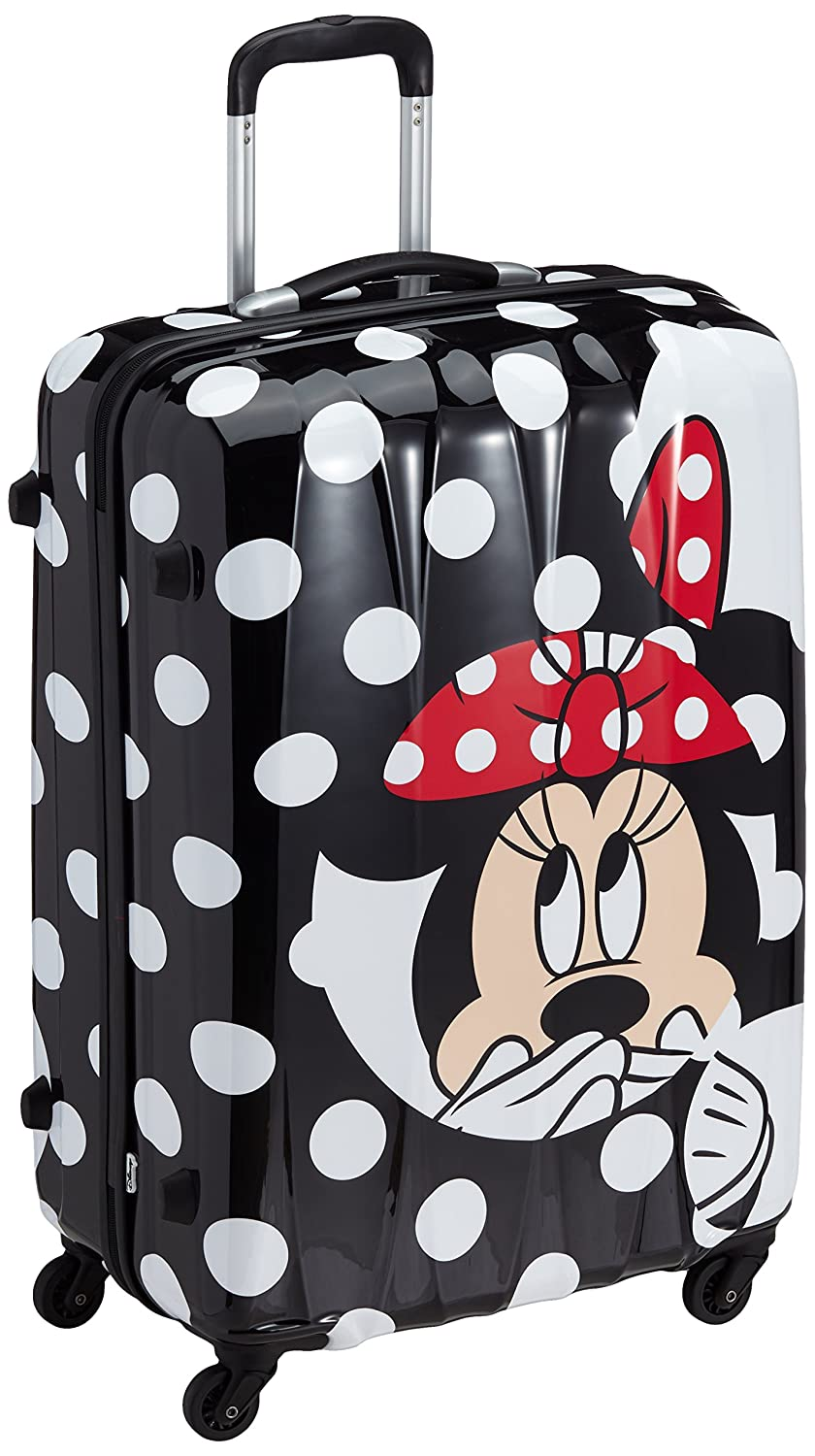 American Tourister - Disney Legends Spinner Maletas y Trolleys, L (75 cm -87 litros), (Minnie Dots): Amazon.es: Equipaje