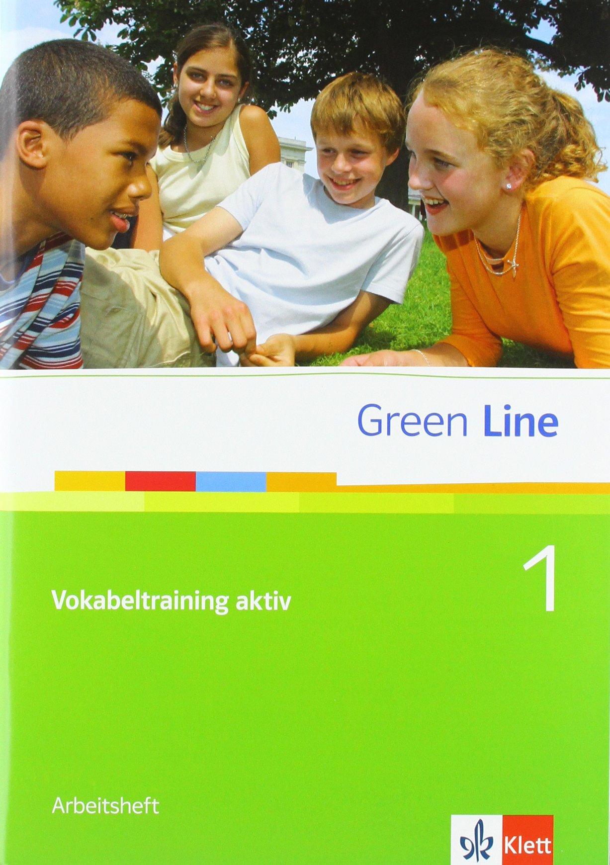 Green Line 1: Vokabeltraining aktiv 1, Arbeitsheft Klasse 5 (Green Line. Bundesausgabe ab 2006)