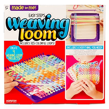 Amazoncom Made By Me Weaving Loom By Horizon Group Usa Toys Games