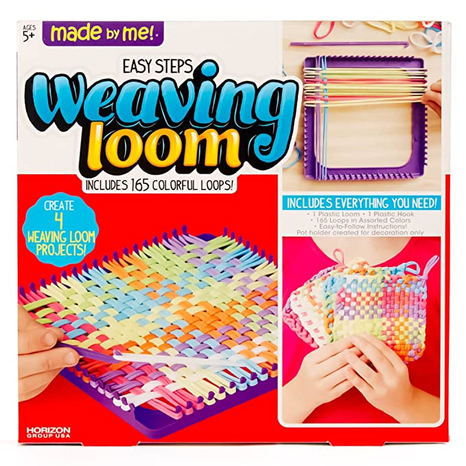 Amazon Made By Me Weaving Loom By Horizon Group Usa Toys Games