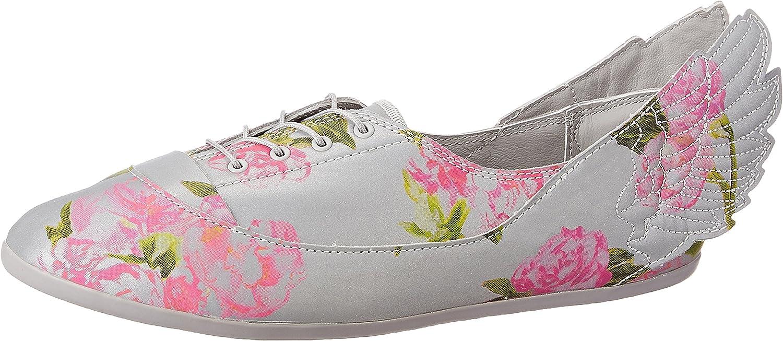 Adidas Originals JS Jeremy Scott Alas Easy5 Floral Zapatos Bailarina Gris Flores