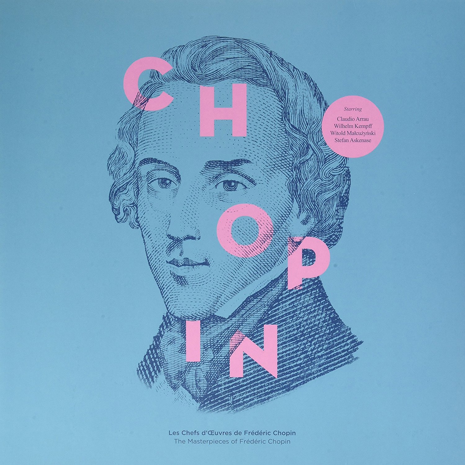 THE MASTERPIECES OF FRDRIC CHOPIN [Vinilo]