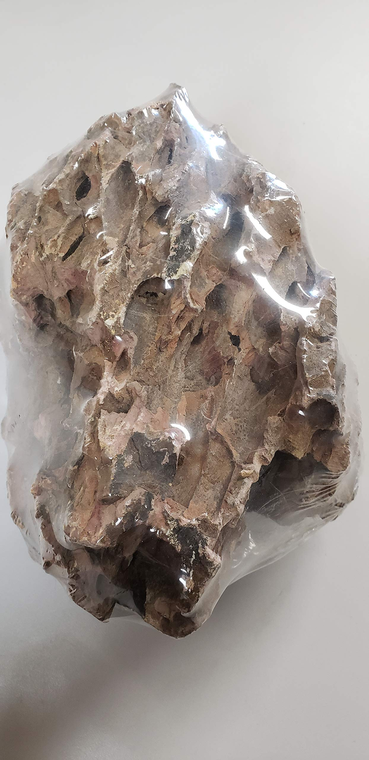 SevenSeaSupply Ohko Dragon Stone - 15 lbs. Mixed Size - PRE Washed - Individually Wrapped - - Aquarium Stone by SevenSeaSupply