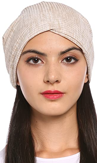 2d7cca73294 Ababalaya Women s Soft Breathable Tie Dye Turban Cap Chemo Cancer Beanie  Cap Nightcap