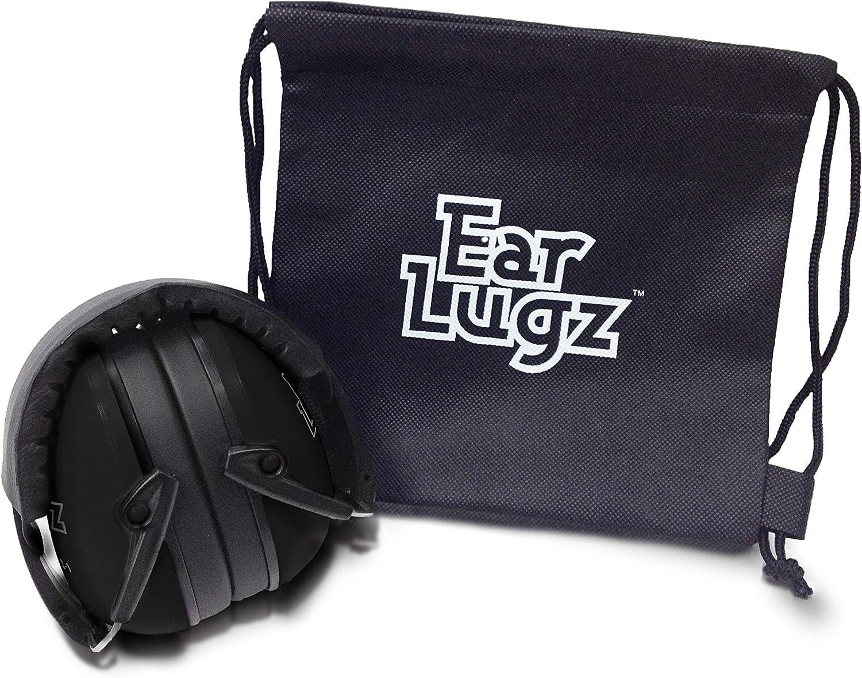 solo para ni/ños Ear Lugz incluye bolsa de almacenamiento Protectores de o/ído para ni/ños color negro