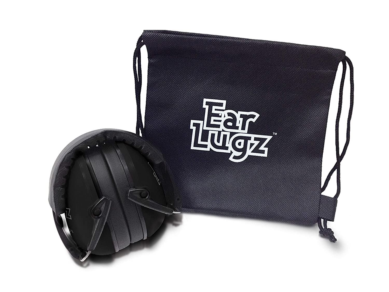 Ear Lugz - 子供用防音袋、収納袋を含む子供用(黒)   B07J1YH2GK