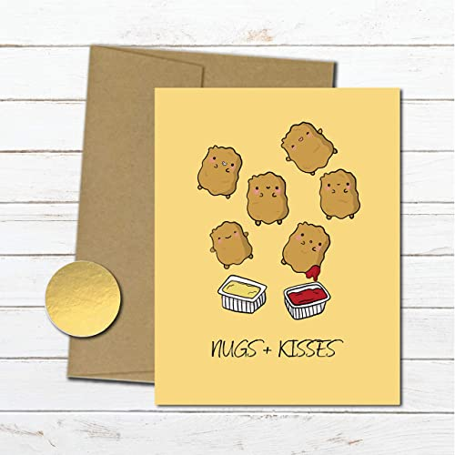 Amazon Nuggets Anniversary Card For Boyfriend Husband Love