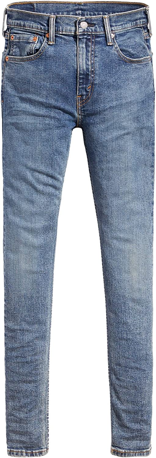 Levi's 519 - PANTALON VAQUERO PARA HOMBRE - 519TM EXTREME SKINNY - STRETCH SITS BELOW WAIST SUPER SKINNY FROM HIP TO ANKLE - MADE WICH ADVANCED STRETCH - DENIM